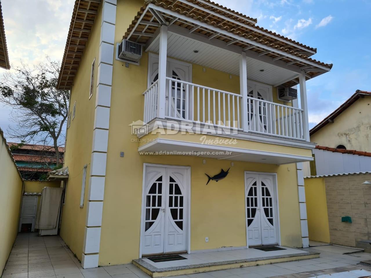 cod: 164 CASA LOCAÇÃO TEMPORADA, COM PISCINA, PERÓ, CABO FRIO