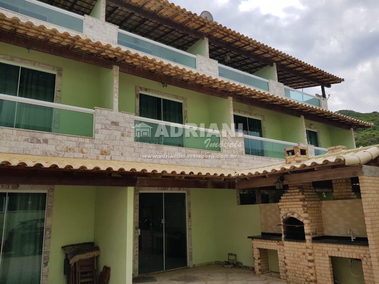 Cód 379 Casa em condomínio, com 4 quartos, área gourmet, Peró, Cabo Frio – RJ