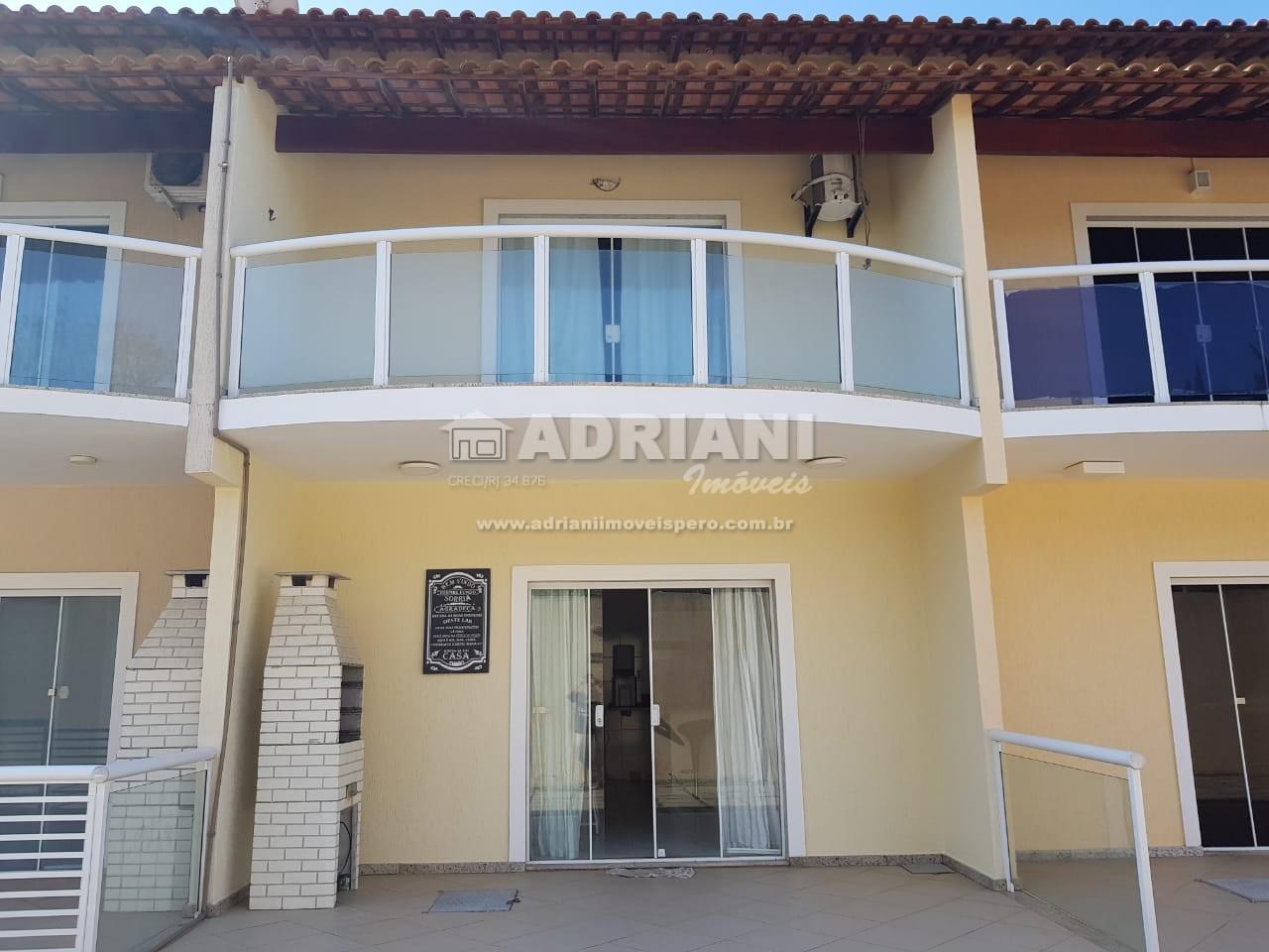Cód 383 Casa em condomínio, com 3 quartos, vista mar, Peró, Cabo Frio – RJ