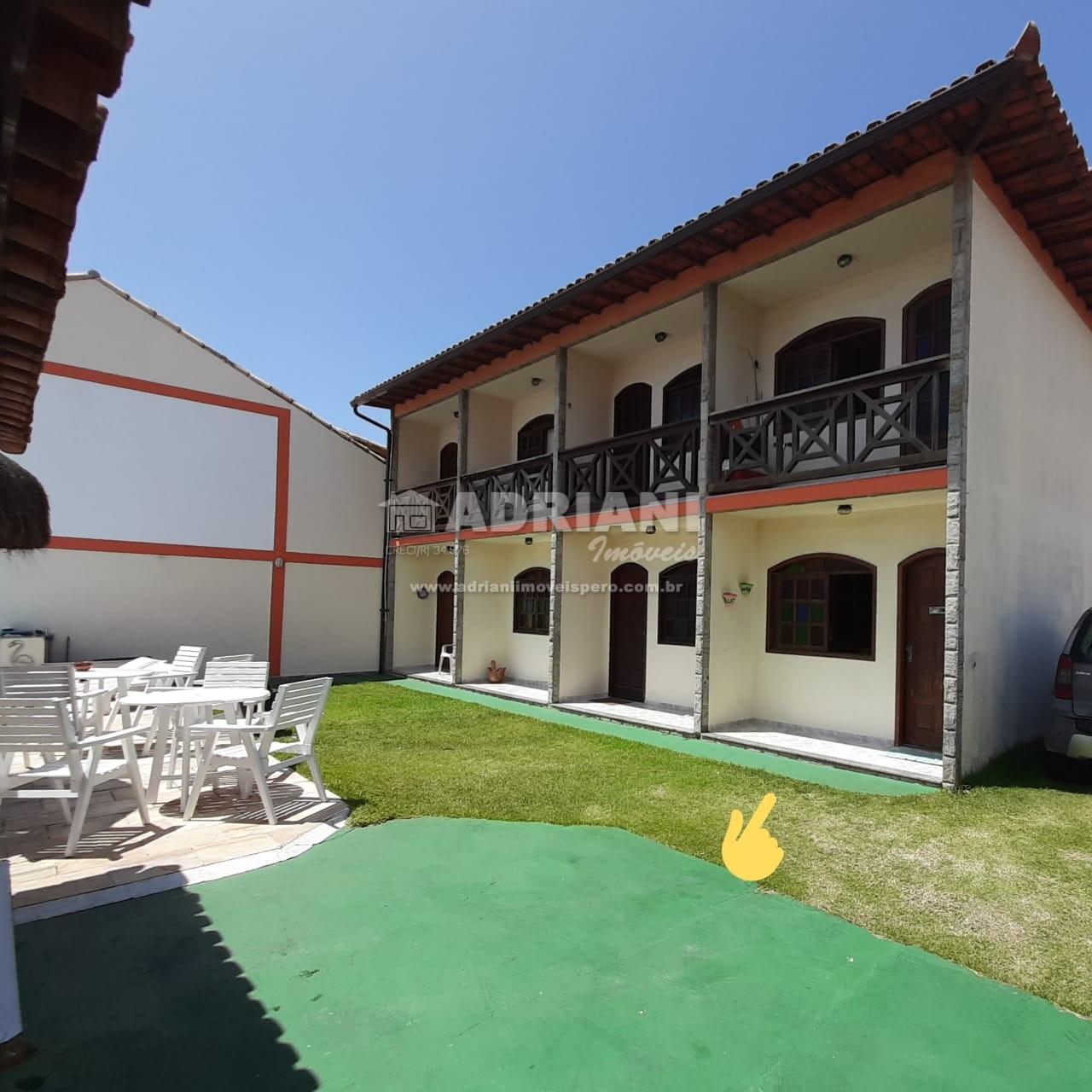 Cód.: 456 Casa em condomínio com canal navegável, 2 quartos, Ogiva, Cabo Frio – RJ